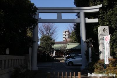 下落合氷川神社(新宿区下落合)3