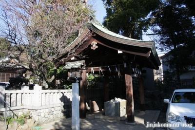 下落合氷川神社(新宿区下落合)5