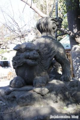 下落合氷川神社(新宿区下落合)13