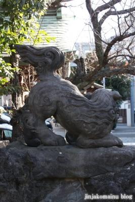 下落合氷川神社(新宿区下落合)14