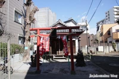 鼓稲荷神社(新宿区西落合)1