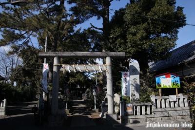 中井御霊神社(新宿区中井)1