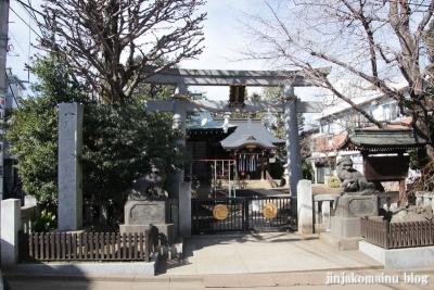 月見岡八幡宮(新宿区上落合)1