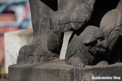 月見岡八幡宮(新宿区上落合)40