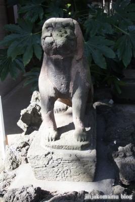 月見岡八幡宮(新宿区上落合)16