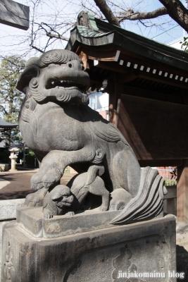 月見岡八幡宮(新宿区上落合)32