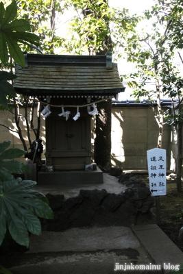 月見岡八幡宮(新宿区上落合)20