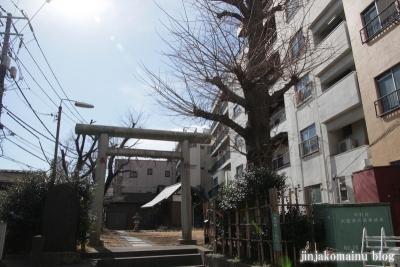 第六天神社(中野区東中野)1