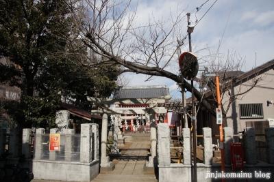 藤神稲荷神社(中野区弥生町)1