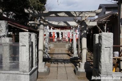 藤神稲荷神社(中野区弥生町)2
