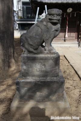 西町天神北野神社(中野区中央)10