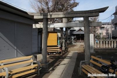 西町天神北野神社(中野区中央)1