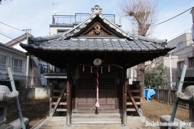 西町天神北野神社(中野区中央)4