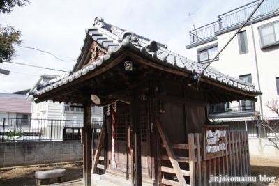 西町天神北野神社(中野区中央)5