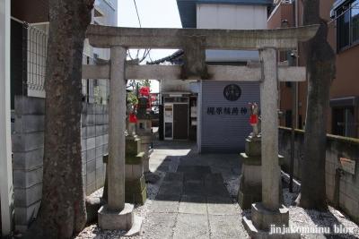 梶原稲荷神社(品川区東大井)1