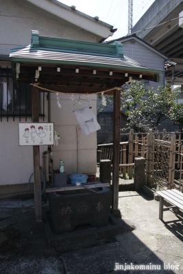 青雲稲荷神社(品川区東大井)3