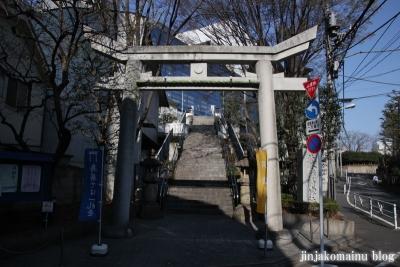 北谷稲荷神社(渋谷区神南)1