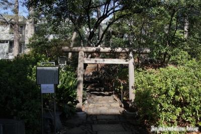 猿楽神社(渋谷区猿楽町)1