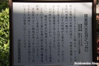 猿楽神社(渋谷区猿楽町)2