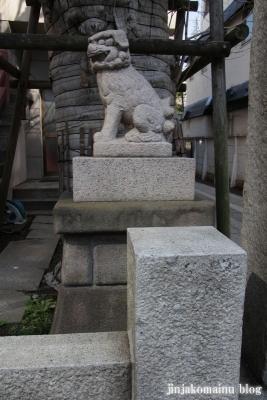誕生八幡神社(品川区上大崎)10