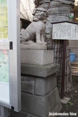 誕生八幡神社(品川区上大崎)14