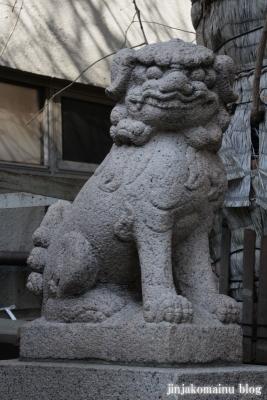 誕生八幡神社(品川区上大崎)15