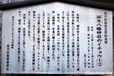 誕生八幡神社(品川区上大崎)5
