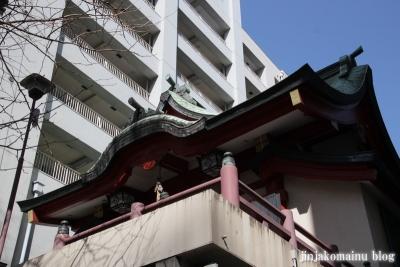 誕生八幡神社(品川区上大崎)8