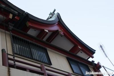 誕生八幡神社(品川区上大崎)9