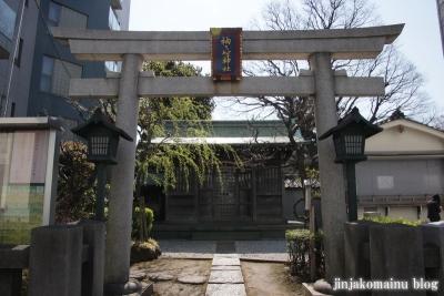 袖ケ崎神社(品川区東五反田)1