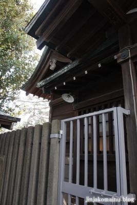 袖ケ崎神社(品川区東五反田)8