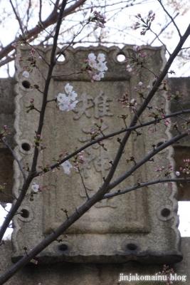 雉子神社(品川区東五反田)3