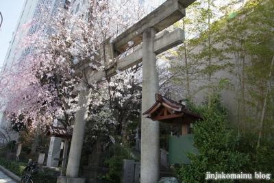 雉子神社(品川区東五反田)1