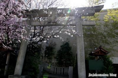 雉子神社(品川区東五反田)2