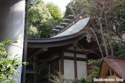 雉子神社(品川区東五反田)12