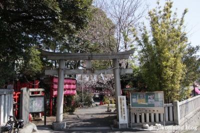 居木神社(品川区大崎)1