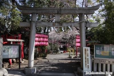 居木神社(品川区大崎)2