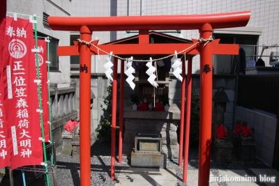 笠森稲荷神社(品川区戸越)6