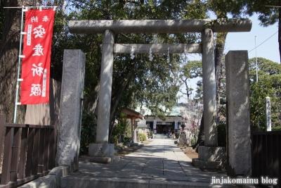 下神明天祖神社(品川区二葉)18