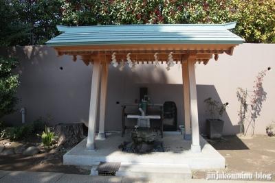 下神明天祖神社(品川区二葉)19