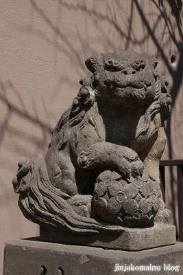 下神明天祖神社(品川区二葉)11