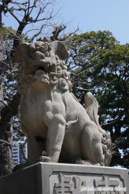 下神明天祖神社(品川区二葉)21