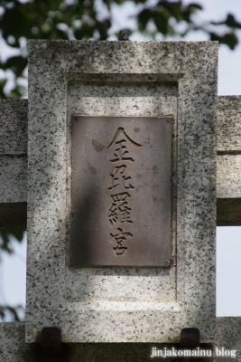 金比羅宮(日野市新町)3