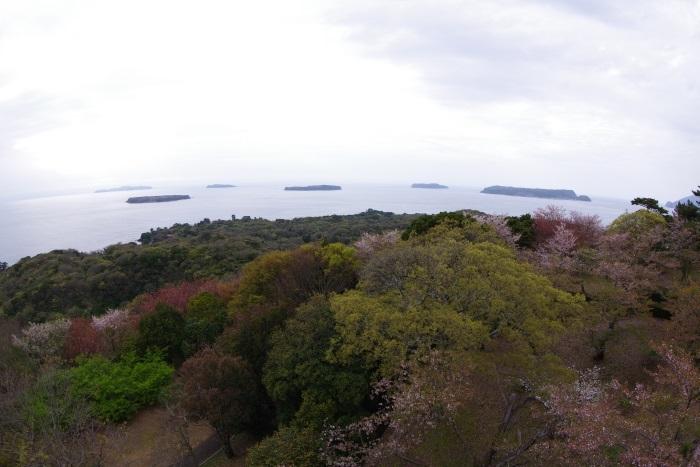 笠山展望台