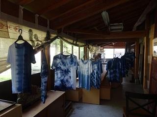 藍染Tシャツ