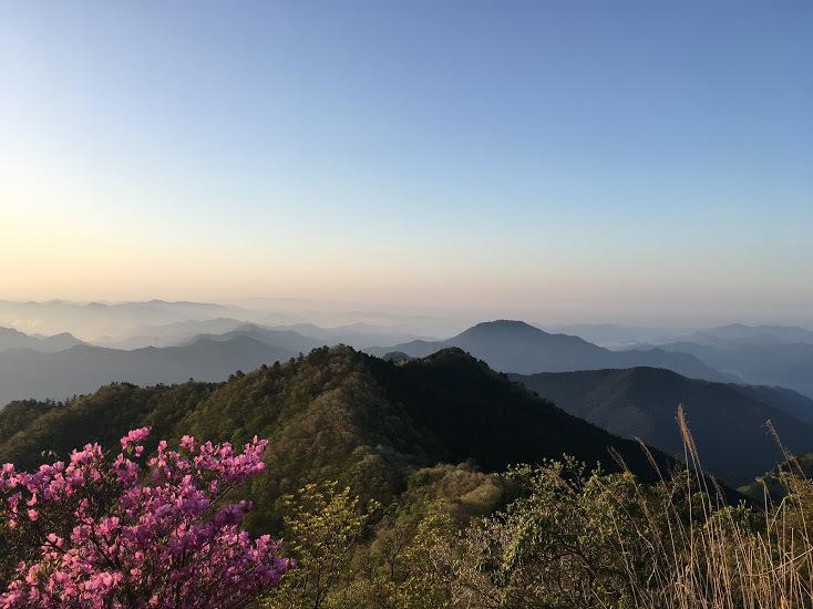 2018千ヶ峰/途中の景色