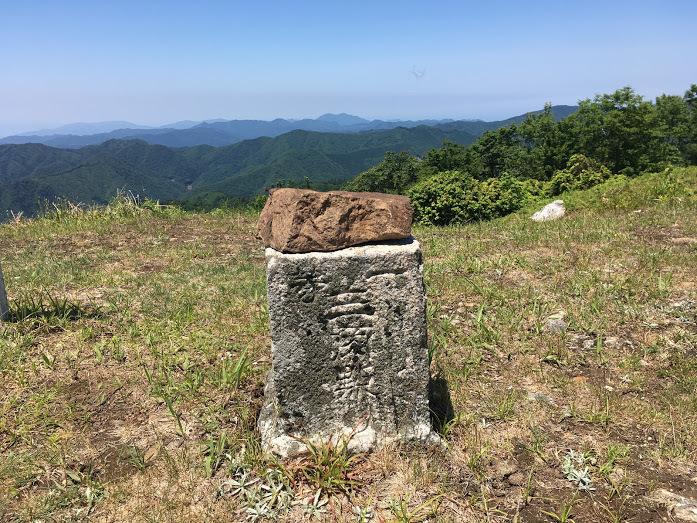 2018地蔵杉長老ヶ岳/長老ヶ岳三角点