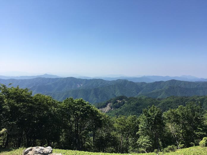 2018地蔵杉長老ヶ岳/長老ヶ岳景色