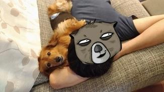 犬太郎とパパ3