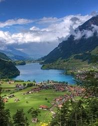スイスの片田舎